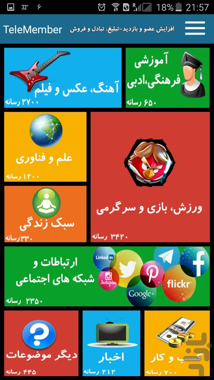 تلگرام.