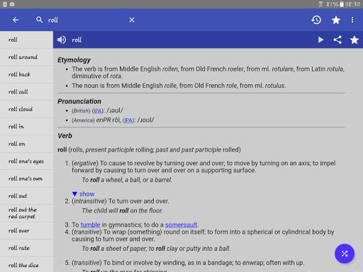 English Dictionary - Offline - Image screenshot of android app