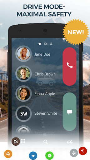 Resultado de imagen para Contacts, Phone Dialer & Caller ID: drupe v3