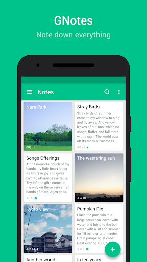 GNotes - Note, Notepad & Memo