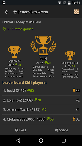 lichess • Free Online Chess Game for Android - Download