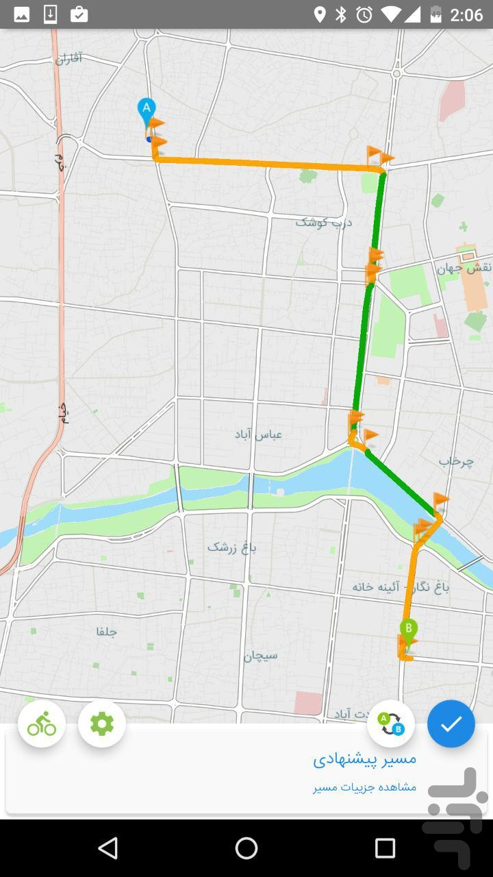 Isfahan Traffic Map