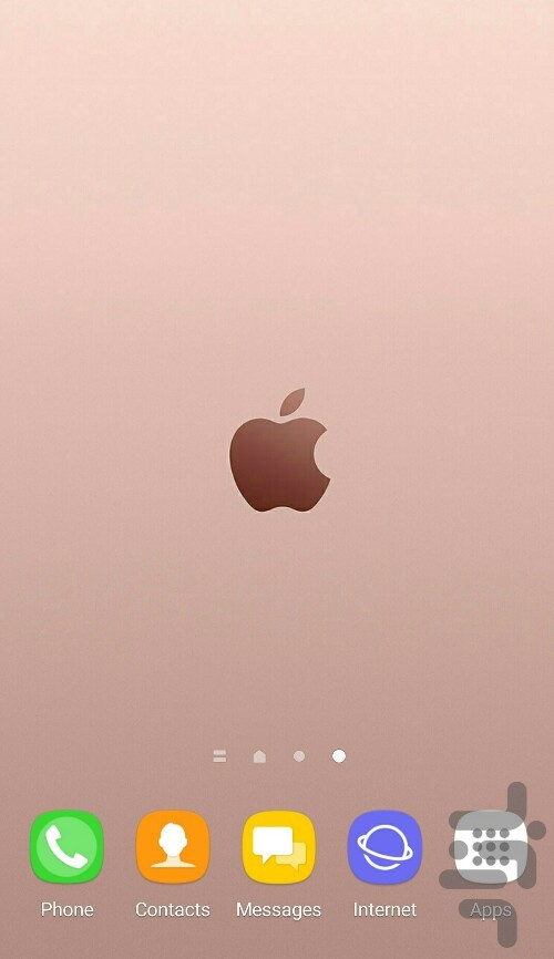 pink apple theme for Android - Download | Cafe Bazaar