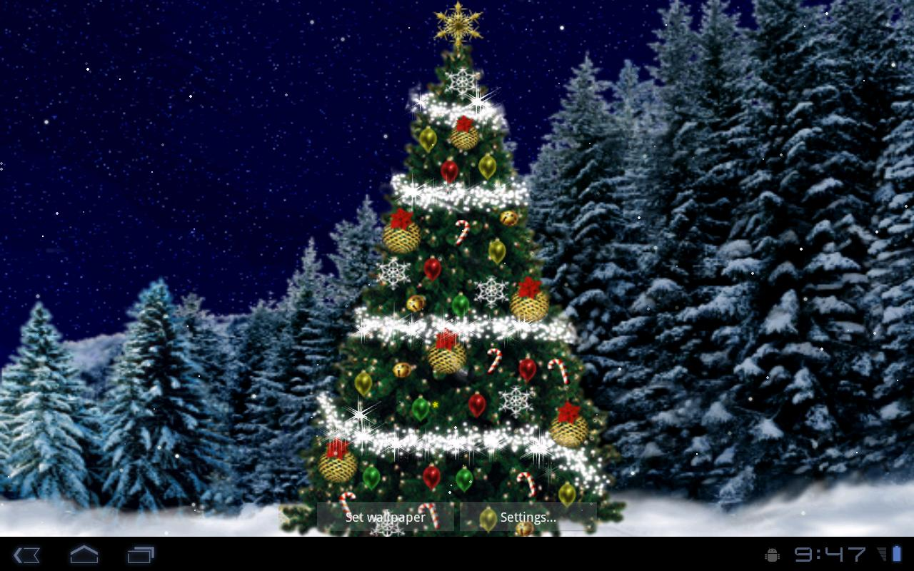 christmas tree live wallpaper download install android apps