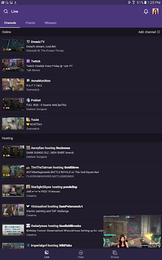 Twitch: Livestream Multiplayer Games & Esports for Android - Download |  Cafe Bazaar
