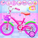 Girl Bike Fix and Washing Salon