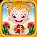 Baby Hazel Spring Time