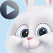 Snowball Rabbit Stickers Animated WAStickerApps – استیکر واتساپ خرگوش