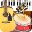Band Live Rock - Drum, Piano, Bass, Guitar, voice