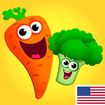 Funny Food! Educational games for kids 3 years old