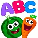 Funny Food!🥦learn ABC games for toddlers&babies📚