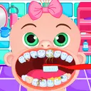 Emily Brushing Tooth