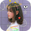 Live face sticker sweet camera