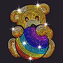 Diamond Coloring - Sequins Art & Paint by Numbers