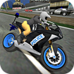 City Police MotorBike 3D Driving Simulator