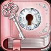Cute Rose Gold Diary App
