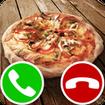 fake call pizza game