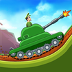 Army Tanks On Hills Mission: Armored Enemies Shoot