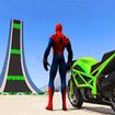Superhero Tricky Bike Stunt GT Racing