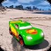 Merge Neon Superhero cars racing