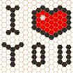 Mosaic Puzzles Art Game - Block Beads & Hex Puzzle