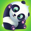 Pu - Cute giant panda bear, virtual pet care game