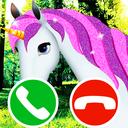 fake call unicorn game