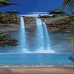 آبشارهای بی نظیر و زیبا(زنده)