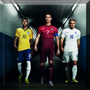 عکس با ستاره های فوتبال