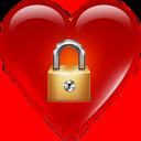 قفل صفحه قلب