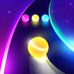 Dancing Road: Color Ball Run! – توپ بازی موزیکال