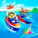 Boat and ship game for babies