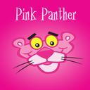 Pink Leopard Cartoon