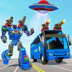 Bus Robot Car War - Robot Game