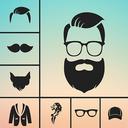 Man Photo Editor : Man Hair style ,mustache ,suit