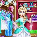 بازی السا و خرید لباس