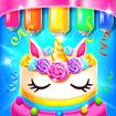 Rainbow Glitter Birthday Cake Maker - Baking Games
