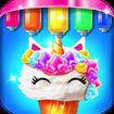 Mermaid Glitter Cupcake Chef - Ice Cream Cone Game