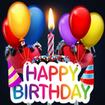 stickers Happy Birthday - WAStickerApps