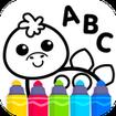 ABC DRAW 🎨 Kids Drawing! Alphabet Games Preschool