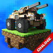 Blocky Cars tank games, online