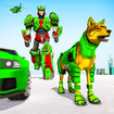 Wolf Robot Transforming Games – Robot Car Games