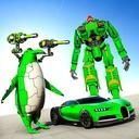 Penguin Robot Car Game: Robot Transforming Games
