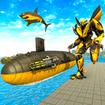 Submarine Robot Transformation: Shark Attack