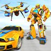 Drone Robot Car Game - Robot Transforming Games