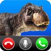 Fake call from Dinosaur World- Jurassic game