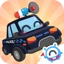 CandyBots Cars & Trucks🚓Vehicles Kids Puzzle Game