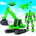 Snow Excavator Robot Deer Robot Car Game