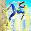 Grand Police Robot Speed Hero City Cop Robot Games