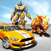 Rhino Robot Car transforming games – City battle